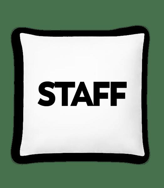 Staff - Cushion - White - Vorn