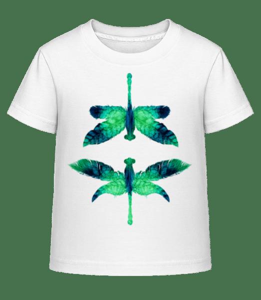 Leaf Dragonfly - Kid's Shirtinator T-Shirt - White - Vorn