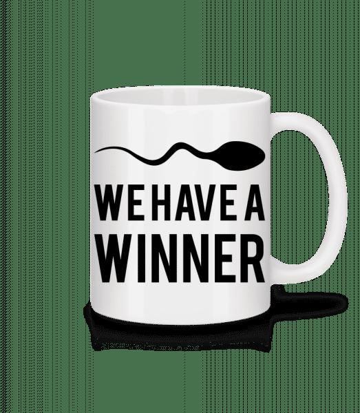 Sperm Winner - Mug - White - Vorn
