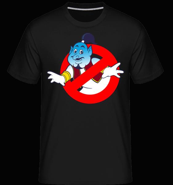Giniebuster -  Shirtinator tričko pro pány - Černá - Napřed