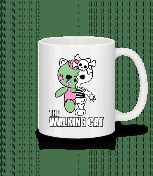 The Walking Cat - Mug - White - Vorn