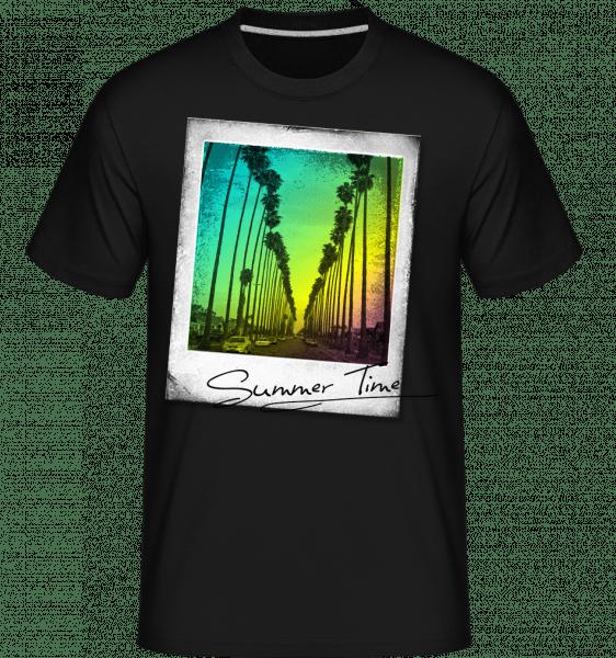 Summer Time -  Shirtinator Men's T-Shirt - Black - Vorn