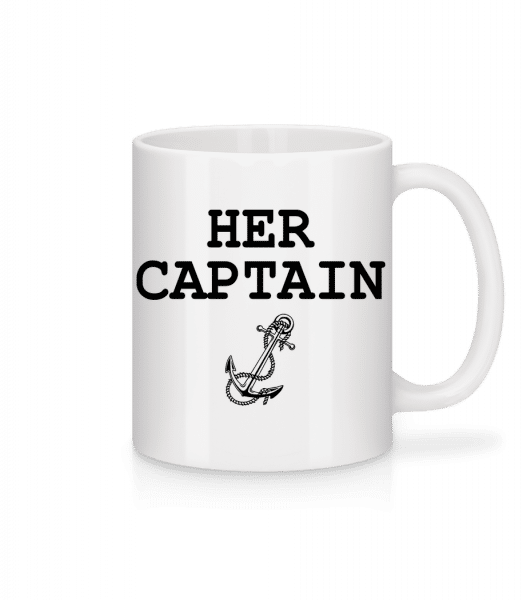 Her Captain - Mug - White - Front