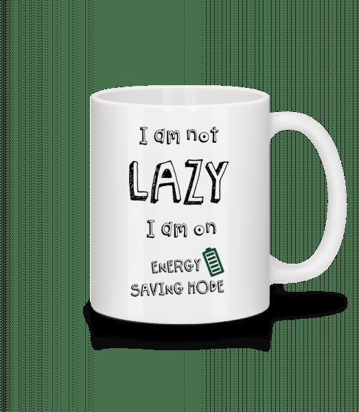 I Am Not Lazy - Mug - White - Vorn