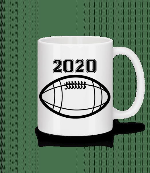 Football 2020 - Tasse - Weiß - Vorn