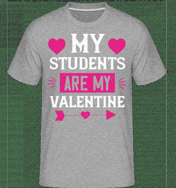 My Students Are My Valentine -  Shirtinator Men's T-Shirt - Heather grey - Vorn