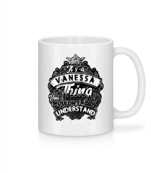 It's A Vanessa Thing - Mug - White - Vorn