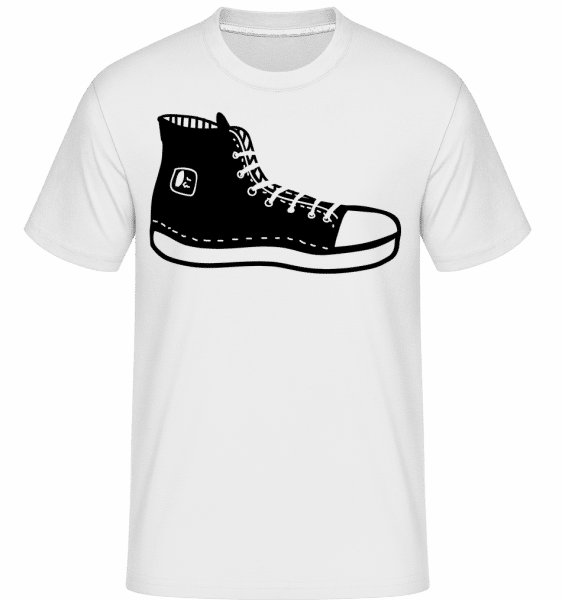 Hipster Shoes -  Shirtinator Men's T-Shirt - White - Front