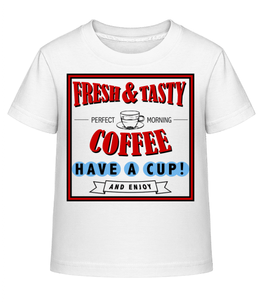 Fresh&Tasty - Kid's Shirtinator T-Shirt - White - Vorn