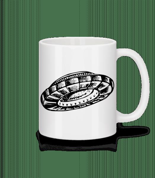 UFO - Mug - White - Vorn
