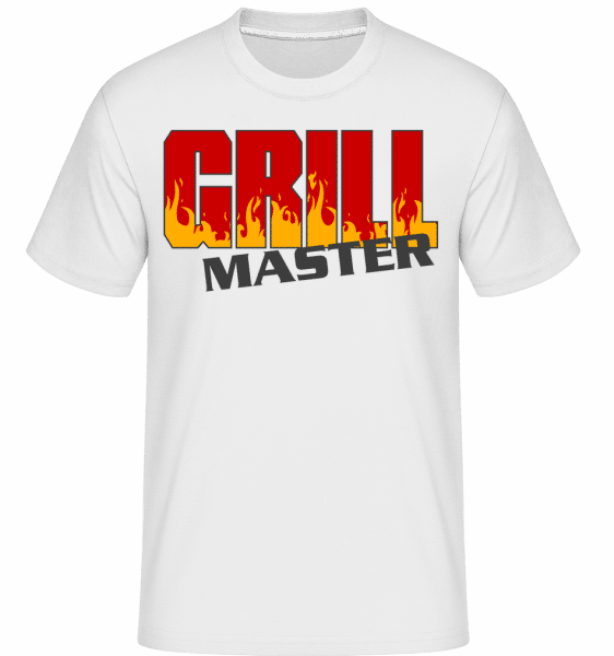Grill Master -  Shirtinator Men's T-Shirt - White - Front