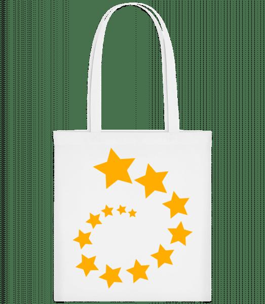 Sternenstrudel - Stoffbeutel - Weiß - Vorn