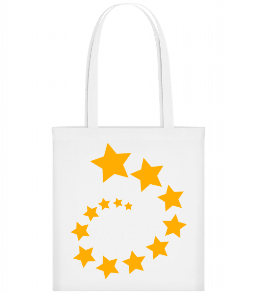 Étoiles Strudel - Sac tote - Blanc - Vorn