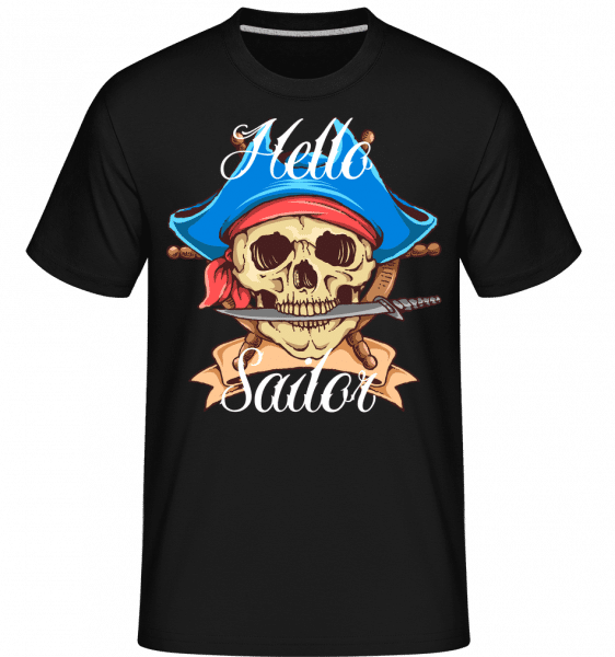 Hello Sailor -  Shirtinator Men's T-Shirt - Black - Vorn
