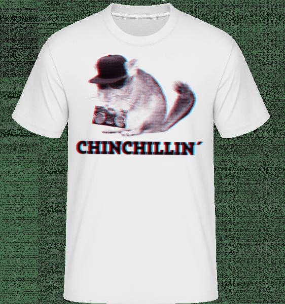 ChinChillin' -  Shirtinator tričko pro pány - Bílá - Napřed
