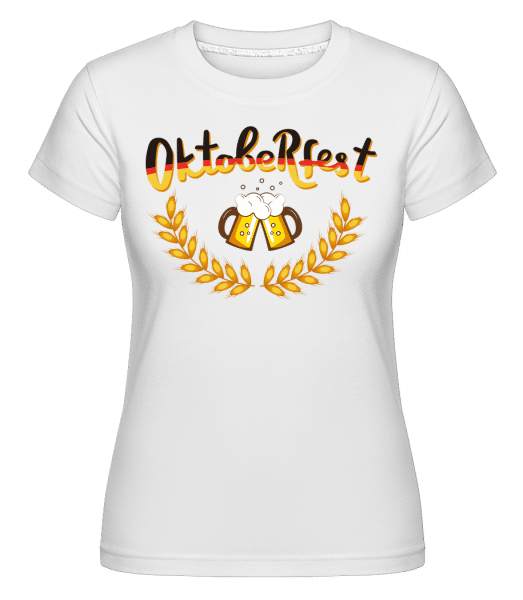 Deutschland Oktoberfest -  Shirtinator Women's T-Shirt - White - Front