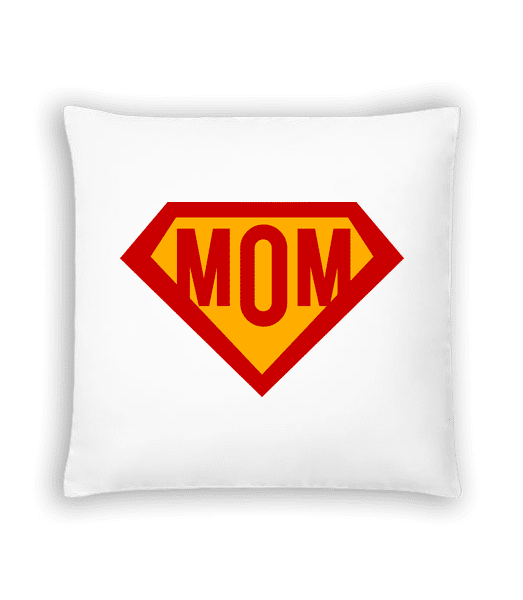 Mom Superhero - Cushion - White - Vorn