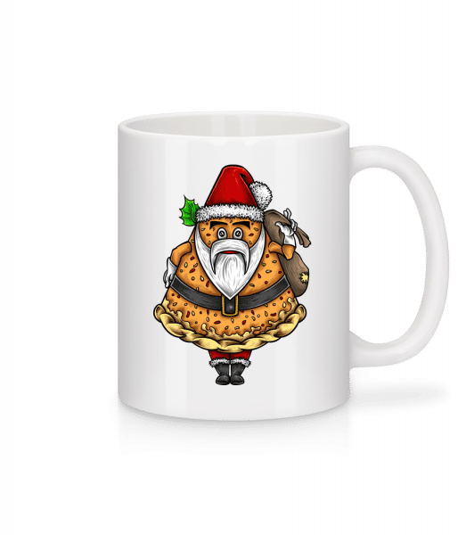 Pizza Santa Claus - Mug - White - Vorn