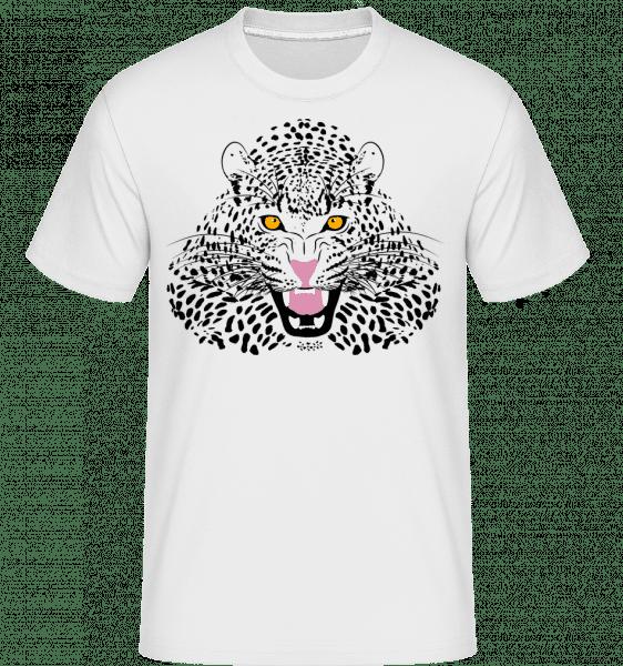 Leopard -  Shirtinator Men's T-Shirt - White - Vorn