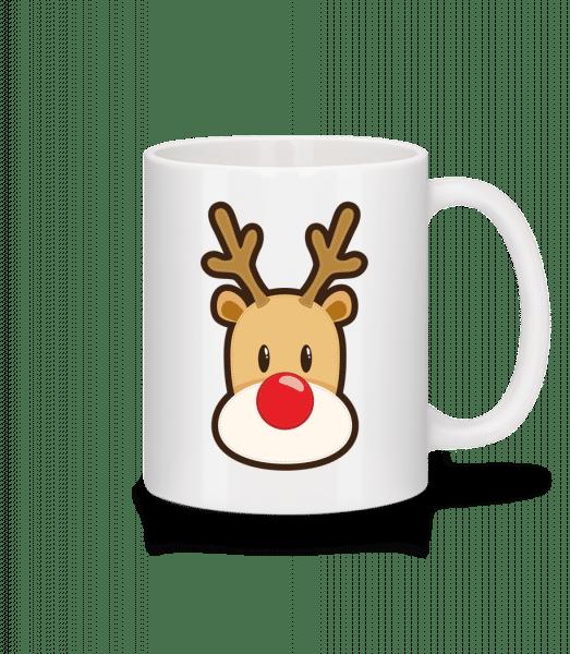 Reindeer Logo - Mug - White - Vorn