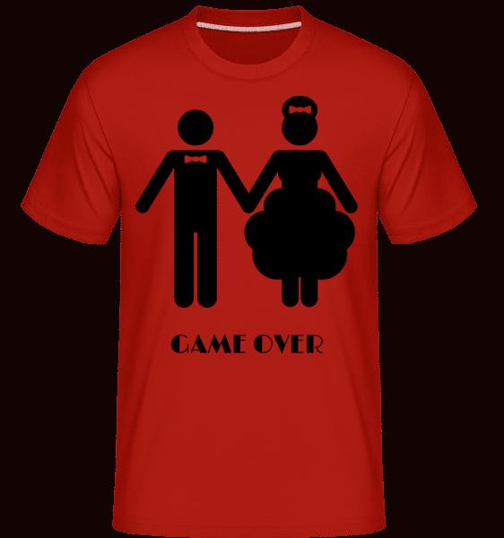 Game Over Wedding -  Shirtinator Men's T-Shirt - Red - Vorn