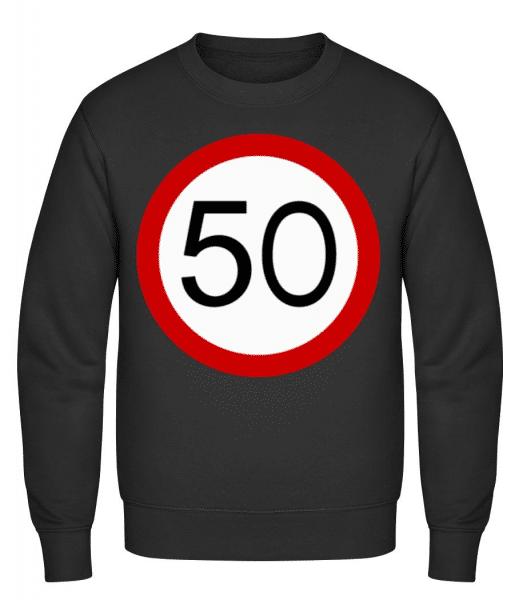 50 Symbol - Men's Sweatshirt - Black - Front