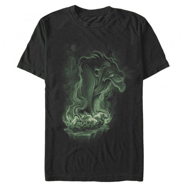 Be Prepared Scar & Hyenas - Disney The Lion King - Men's T-Shirt - Black - Front