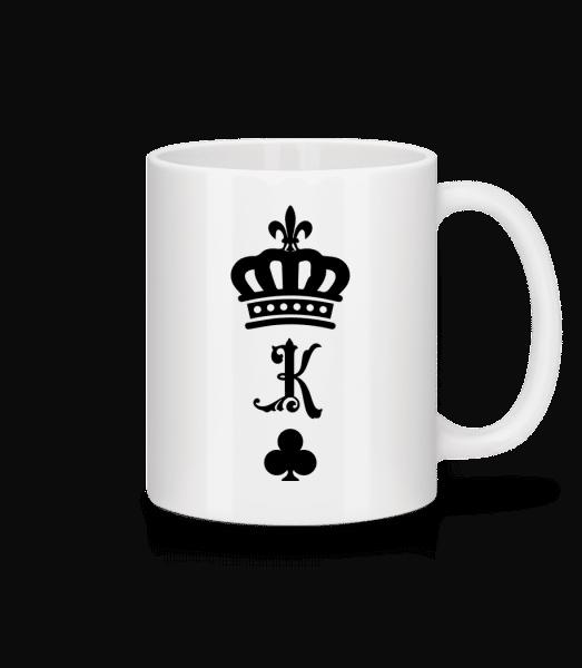 König Krone - Tasse - Weiß - Vorn