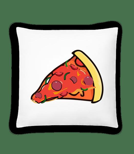 Pizza Slice - Polštář - Bílá - Napřed