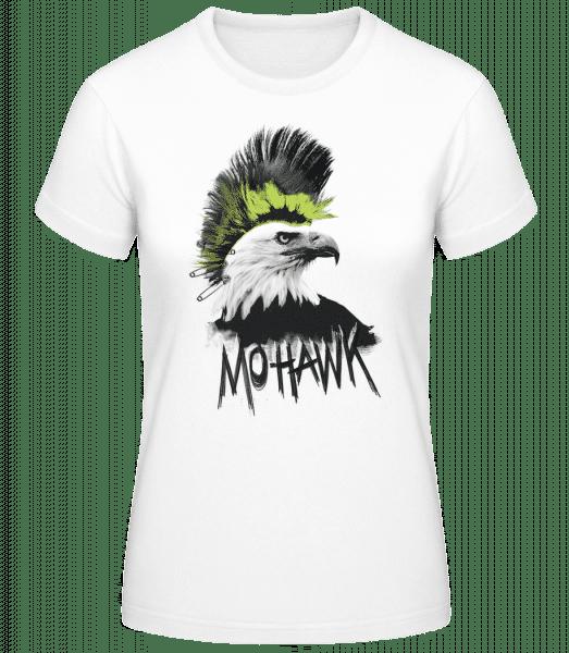 Mohawk - Frauen Basic T-Shirt - Weiß - Vorn