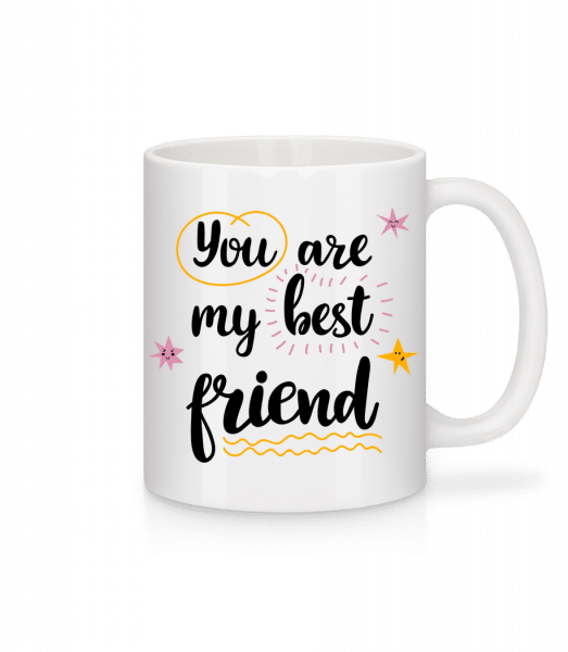 You Are My Best Friend - Mug - White - Vorn
