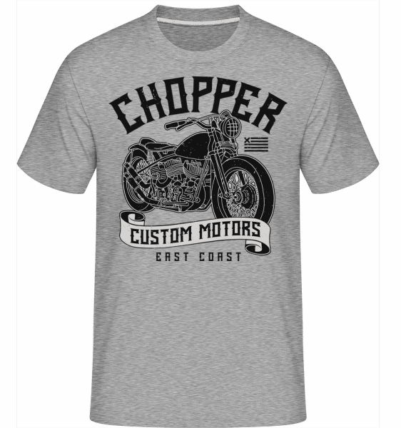 Chopper Custom Motors -  Shirtinator Men's T-Shirt - Heather grey - Vorn