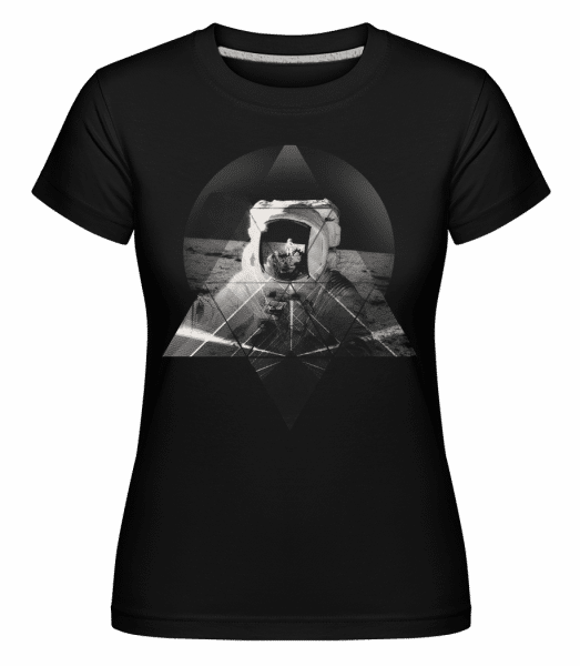 Astronaute -  T-shirt Shirtinator femme - Noir - Devant