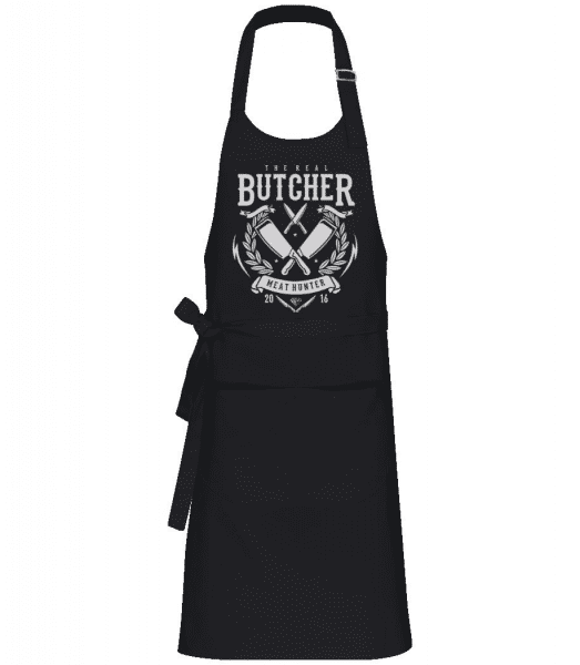 The Real Butcher - Professional Apron - Black - Front