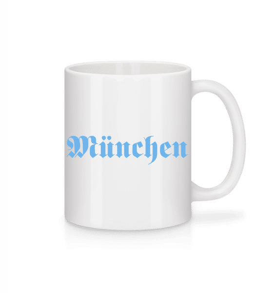 München - Mug - White - Vorn