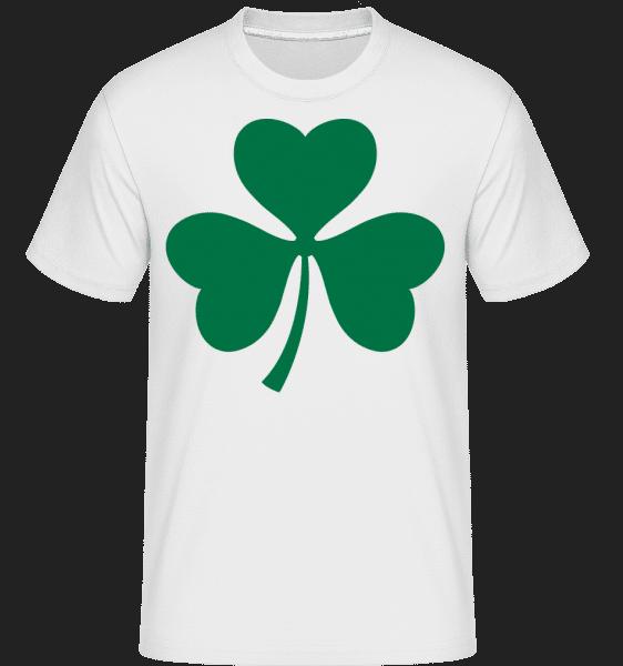 Ireland Cloverleaf -  Shirtinator Men's T-Shirt - White - Vorn