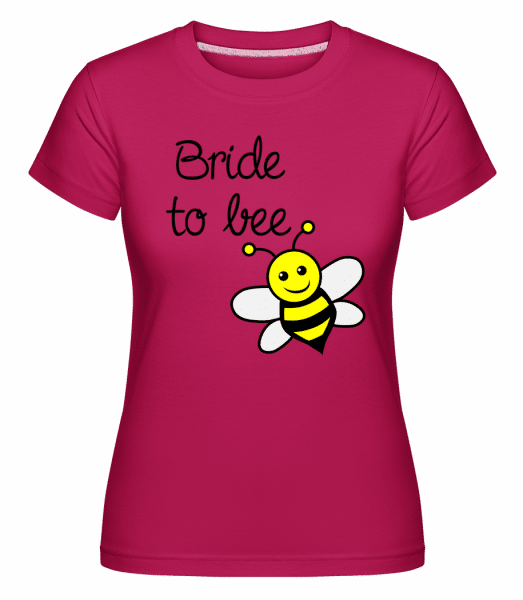 Bride To Bee -  T-shirt Shirtinator femme - Magenta - Vorn