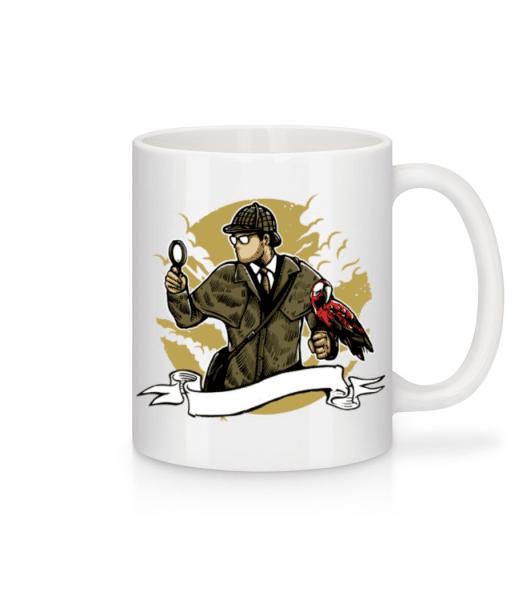 Sherlock Holmes - Mug - White - Front