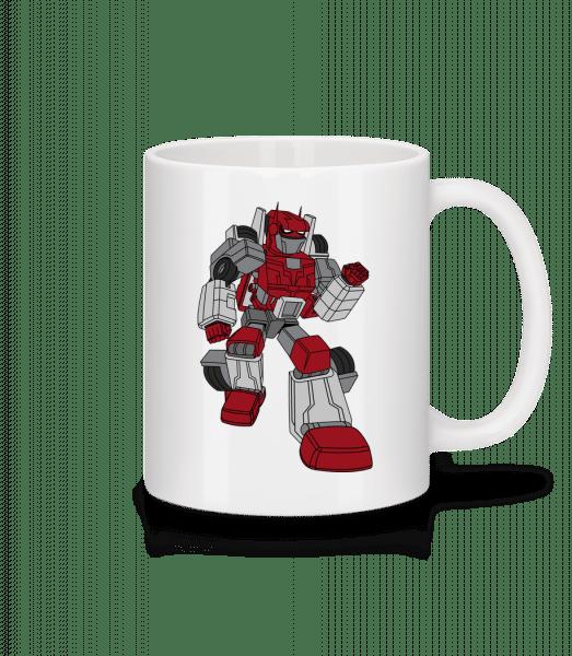 Car Robot - Mug - White - Vorn