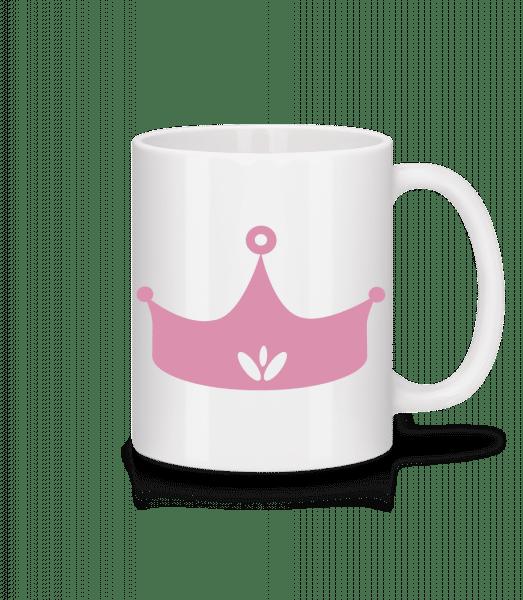 Princess Crown Pink - Mug - White - Front