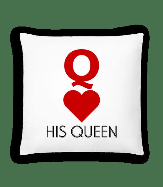 His Queen - Cushion - White - Vorn