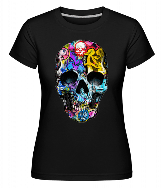 Graffiti Dead -  Shirtinator Women's T-Shirt - Black - Vorn