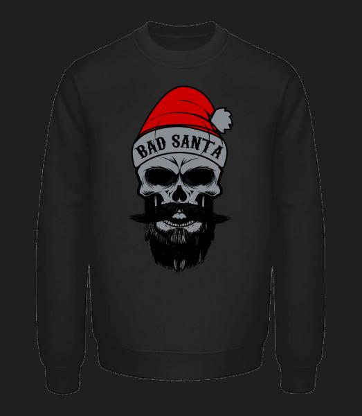 Bad Santa Skull - Unisex Sweatshirt - Black - Vorn