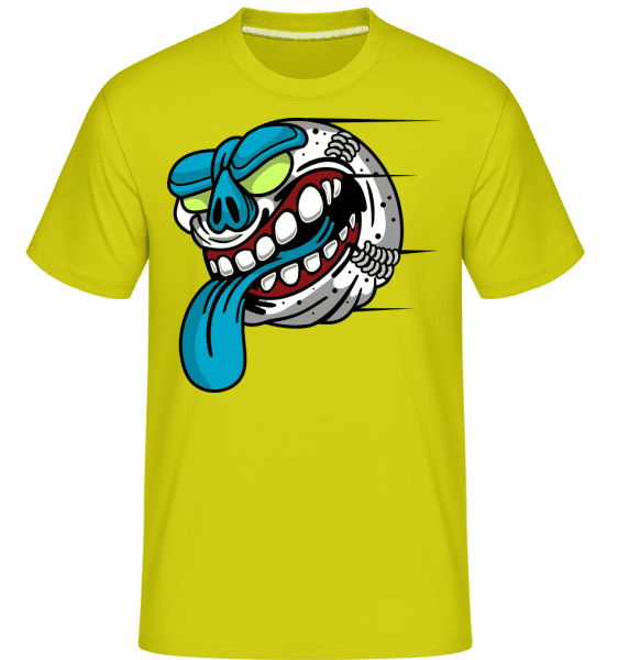 Baseball -  Shirtinator Men's T-Shirt - Lime - Front