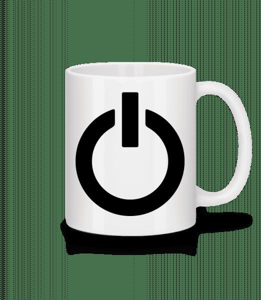 Battery Full Icon - Mug - White - Vorn