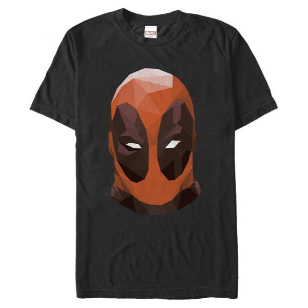 Poly Deadpool - Marvel - Men's T-Shirt - Black - Front