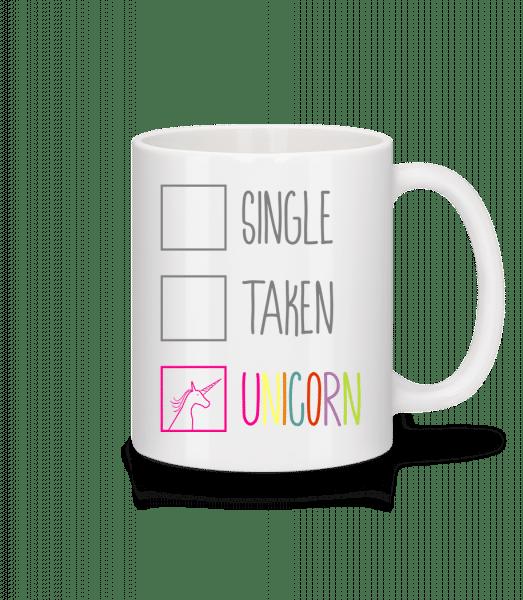 Single Taken Unicorn - Mug - White - Vorn