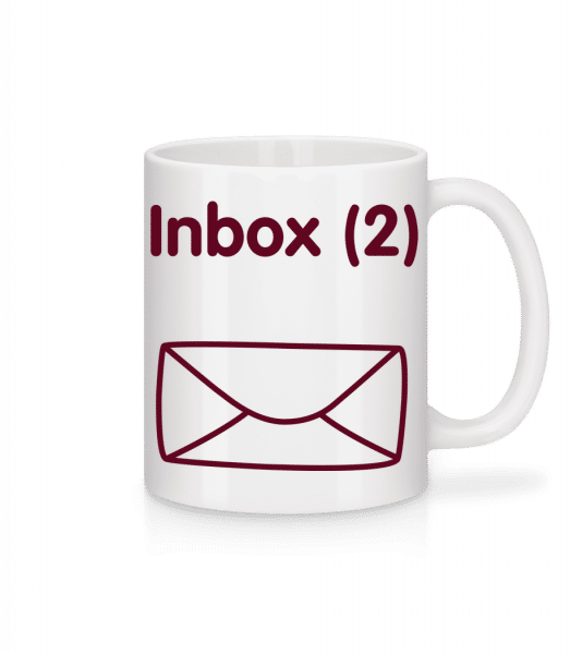 Inbox(2) - Twins Announcement - Mug - White - Front
