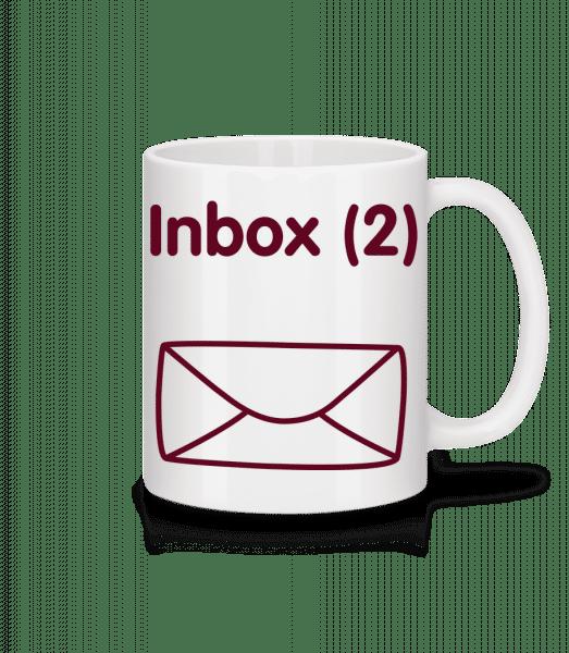 Inbox(2) - Twins Announcement - Mug - White - Vorn