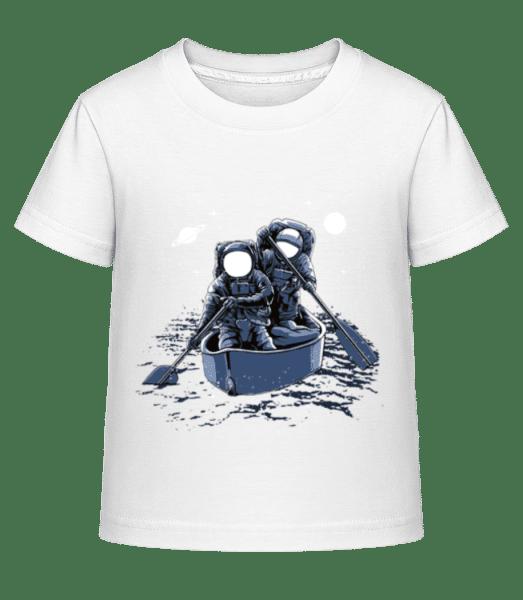 Across The Galaxy - Kid's Shirtinator T-Shirt - White - Vorn